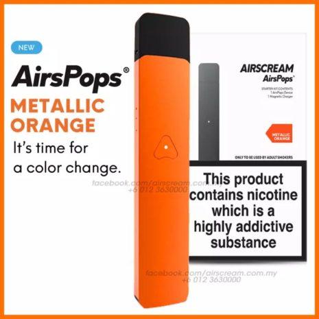 metalic orange
