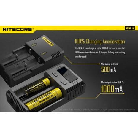 Nitecore New i2 Intellicharger 11
