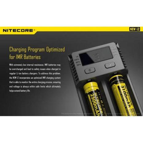 Nitecore New i2 Intellicharger 8