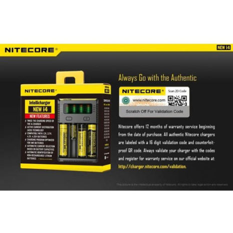 Nitecore New i4 Intellicharger 8