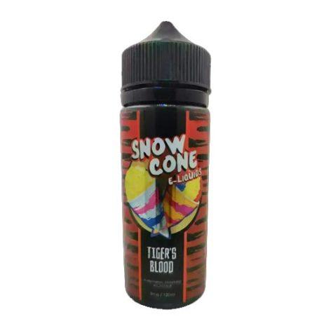 Snow Cone e-liquids Tigers blood 120ml 3mg