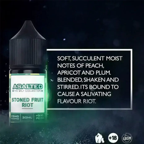 Asalted Stoned fruit riot 30ml 25mg