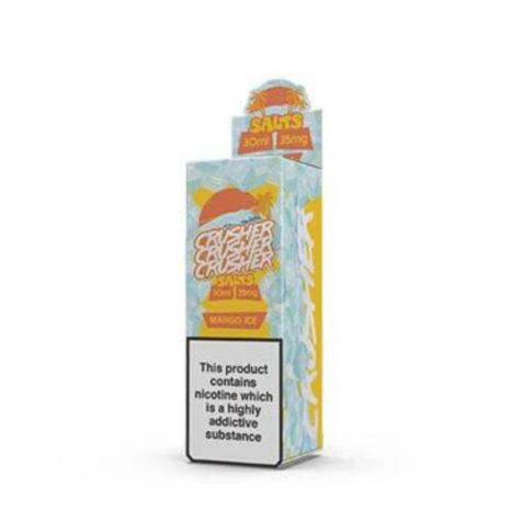 Crusher Salts Mango ice 30ml 35mg