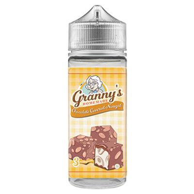 One cloud grannys chocolate coverd nougat 120ml 3mg
