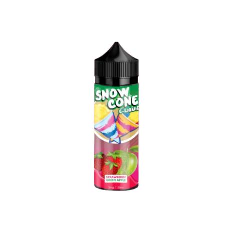Snow Cone Strawberry Green Apple 120ml 3mg