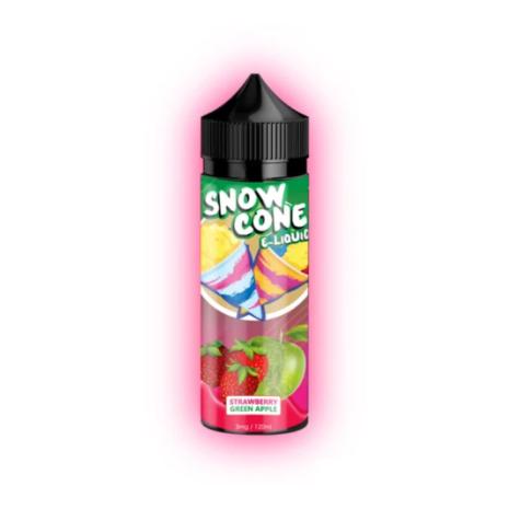 Snow Cone Strawberry Green Apple 30ml 25mg